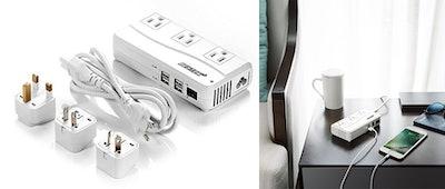 BESTEK Universal Travel Adapter And Voltage Converter