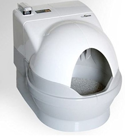 Cat Self-Cleaning Litter Box by GenieDome