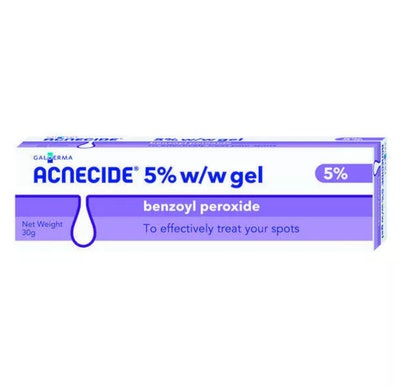 Acnecide 5% Benzoyl Peroxide Gel
