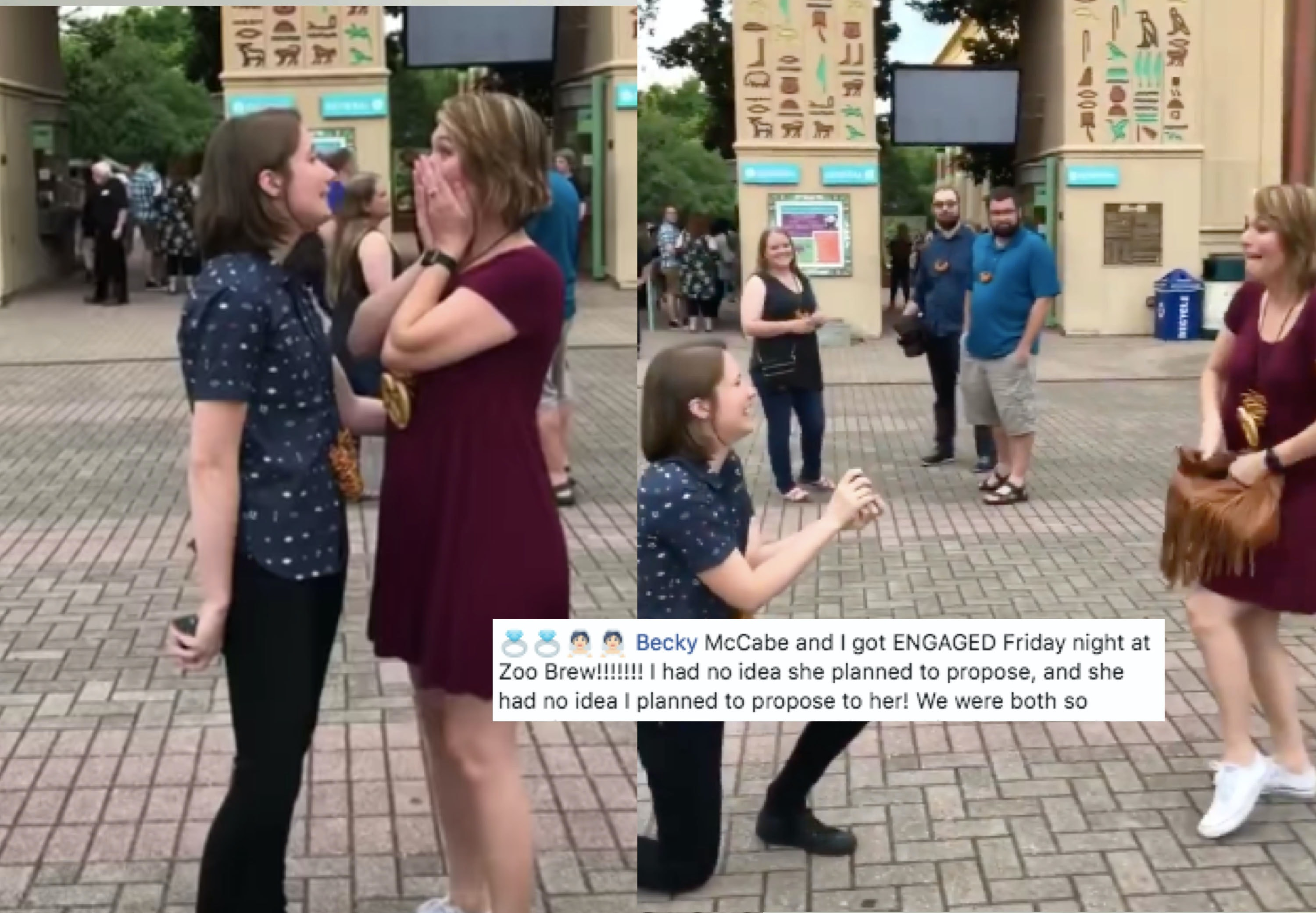A Tennessee Couple Proposed To Each Other At The Same Time