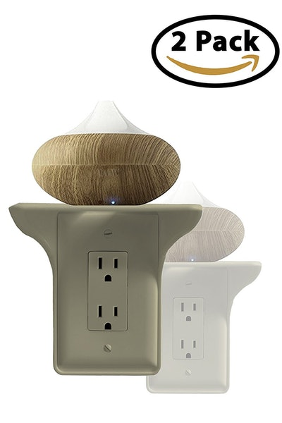 BeraTek Industries Power Perch Outlet Cover Shelf