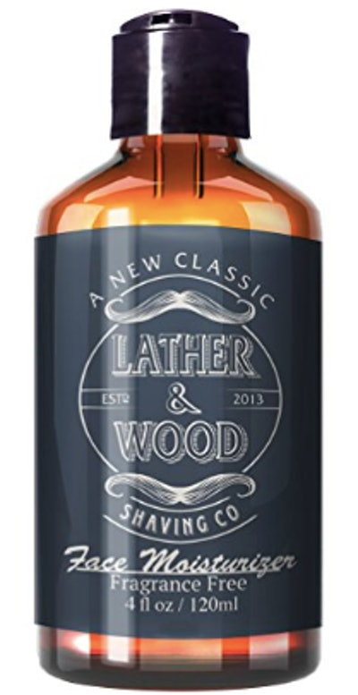 Lather & Wood's Luxurious Sophisticated Men's Moisturizer