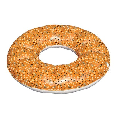 Swimline 48-Inch Inflatable Everything Bagel Pool Float