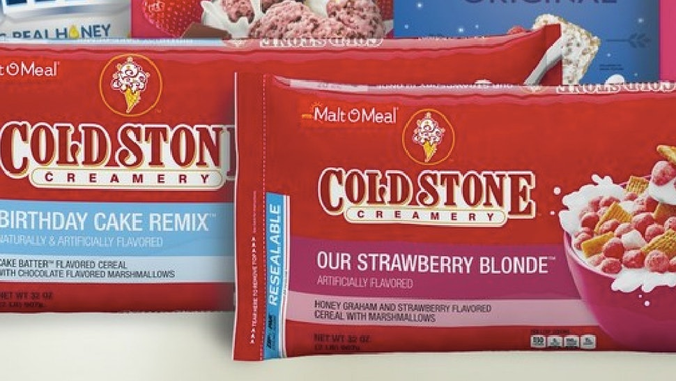 Cold Stone Creamery Cereal Just Launched It Comes In Two Delicious Flavors