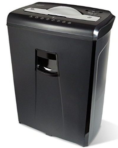 Aurora High-Security Six-Sheet Paper And Credit Card Shredder