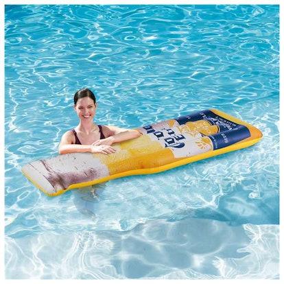 Corona Beer Bottle Inflatable Pool Float Mat (2-Pack)