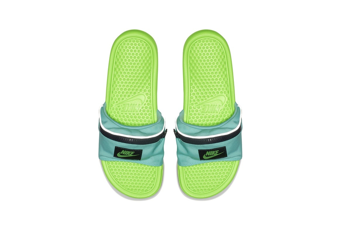 c4293a6a53e7 Where To Buy Nike s Fanny Pack Slides Because The  90s Accessory Has A  Sweet Upgrade