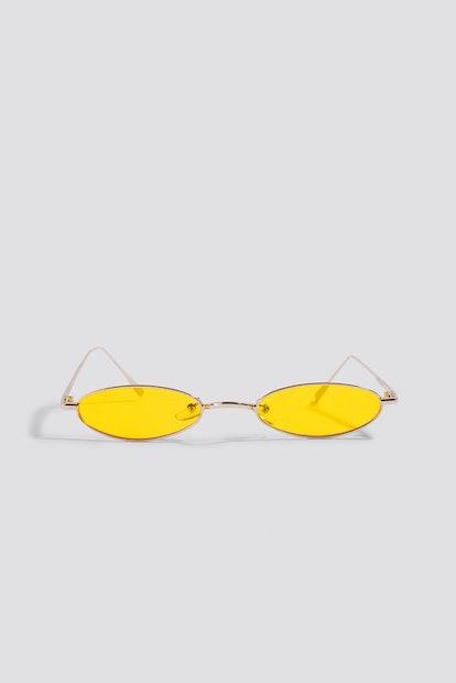 Retro Small Oval Sunglasses