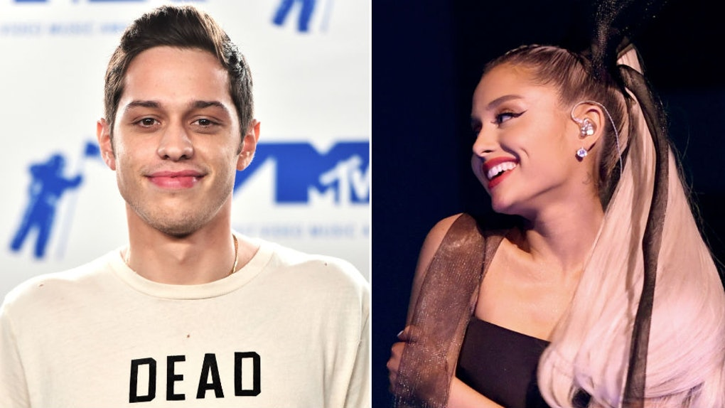 This Photo Of Pete Davidson Kissing Ariana Grande Is Literally The