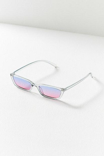 Gigi Slim Rectangle Sunglasses