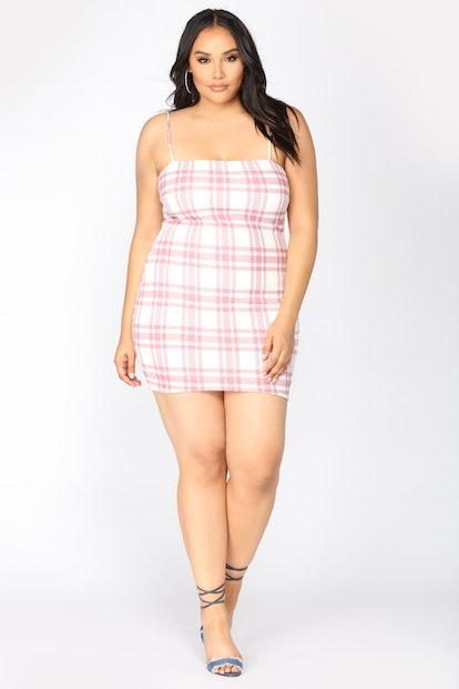 Total Betty Plaid Dress