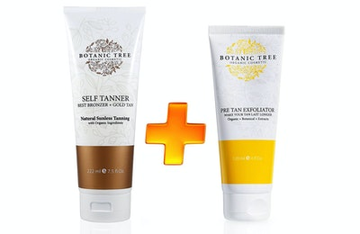 Botanic Tree Self Tanner and Pre Tan Exfoliator