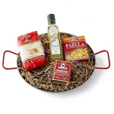 Spanish Paella Gift Set in Paella Pan