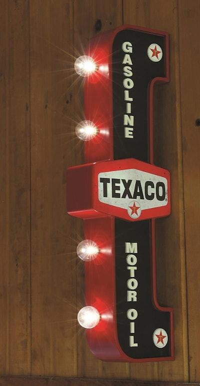 Texaco LED Marquee Sign
