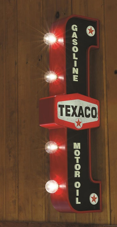Texaco LED Marquee Sign