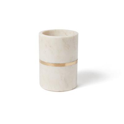 Marble & Brass Single Bottle Wine Cooler