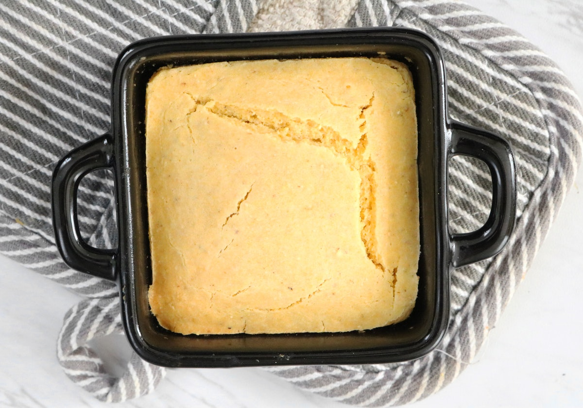 This Cornbread Recipe For One Person Is The Cutest Comfort Food You'll Ever Make