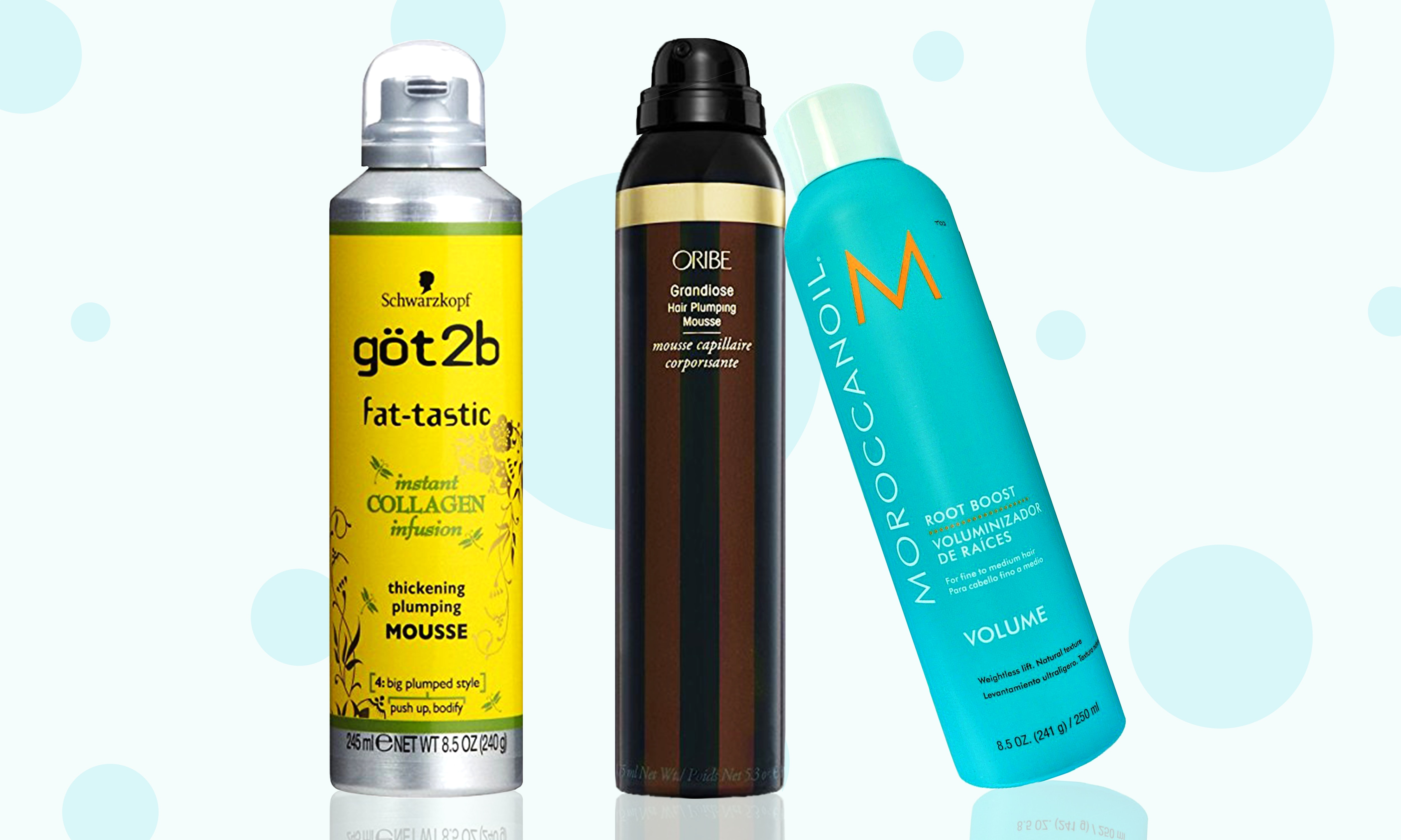 The 5 Best Hair Mousses For Volume