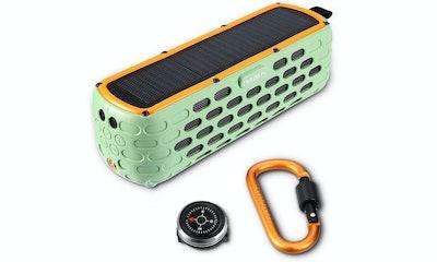 Sixwolves, Solar-Powered Bluetooth Speaker