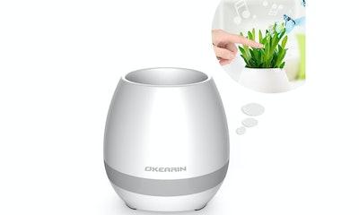 Okearin, F1 Bluetooth Speaker Plant Pot