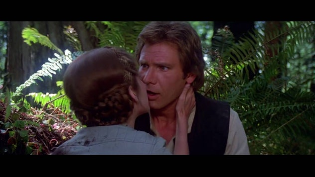 Princess Leia and Han Solo are Star Wars love goals.