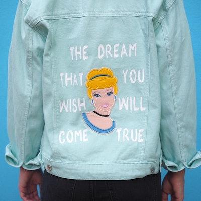 Cinderella-Inspired Denim Jacket
