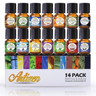 Artizen Aromatherapy Top 14 Essential Oil Set