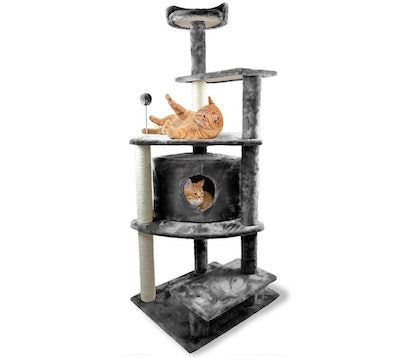 FurHaven Tiger Tough Cat Tree