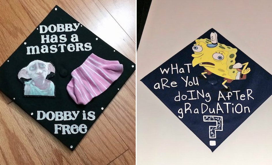 7 hilarious graduation caps that ll make you lol even if you re