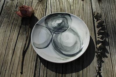 Porcelain Dessert Plate