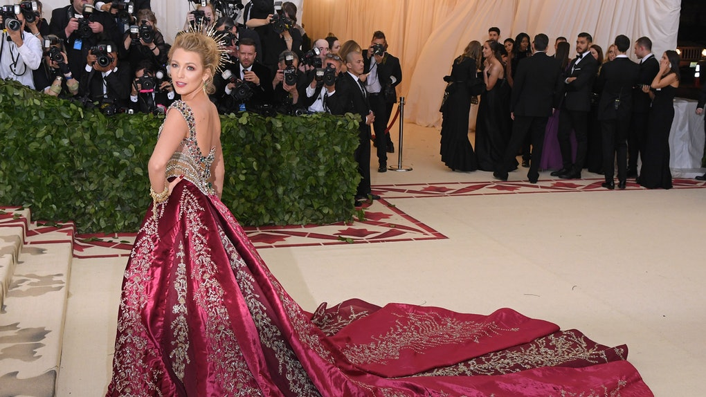 60aa995bf78 Blake Lively s 2018 Met Gala Look Included  5 Press-On Nails   That s What  I Call Heavenly