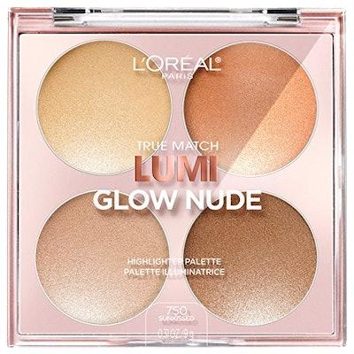 L'Oréal Paris True Match Lumi Glow Nude Palette