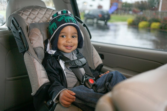 Can My 1-Year-Old Ride In A Front-Facing