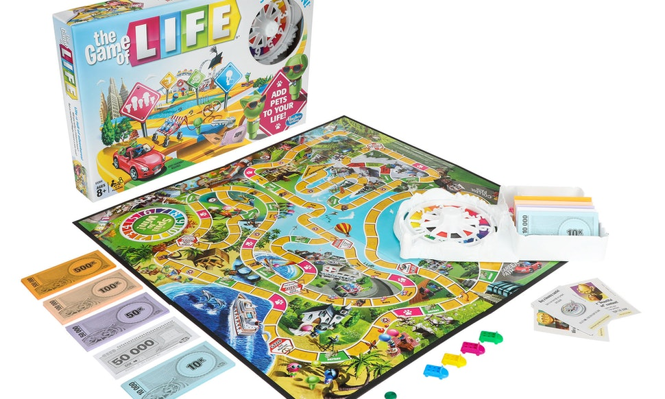 The Game Of Life Pets Edition Adds Dogs Cats To The Classic Game