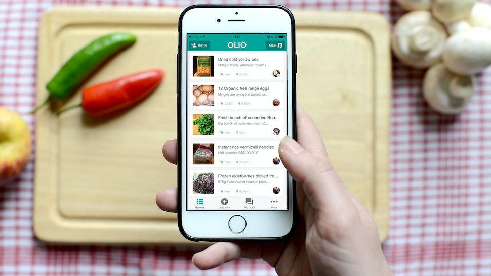 What Is Olio? Reducing Food Waste Is Vital AF & This App