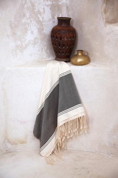 Aziza Morrocan Throw Blanket