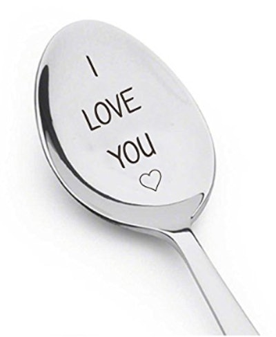 """Engraved """"I Love You"""" Spoon"""
