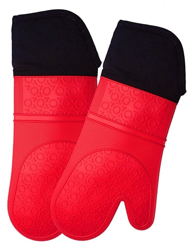 Homwe Silicone Oven Mitts