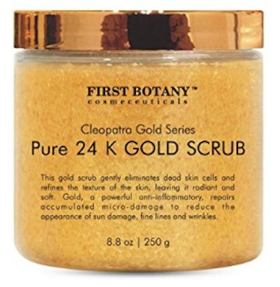24K Gold Scrub