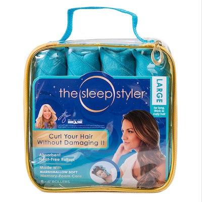 The Sleep Styler Heat Free Hair Curlers