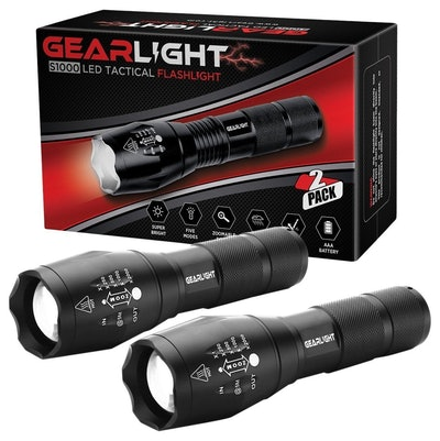GearLight LED Tactical Flashlight