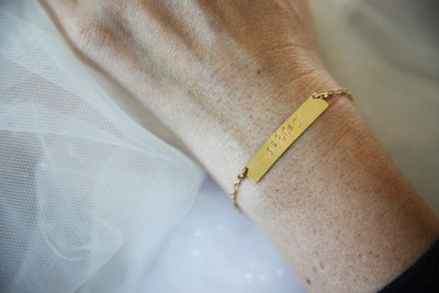 Personalized Rectangle Bracelet