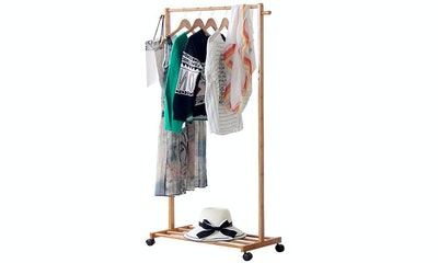 Limam, Bamboo Garment Rack