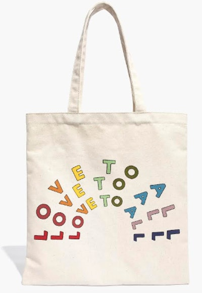 Love To All Tote Bag