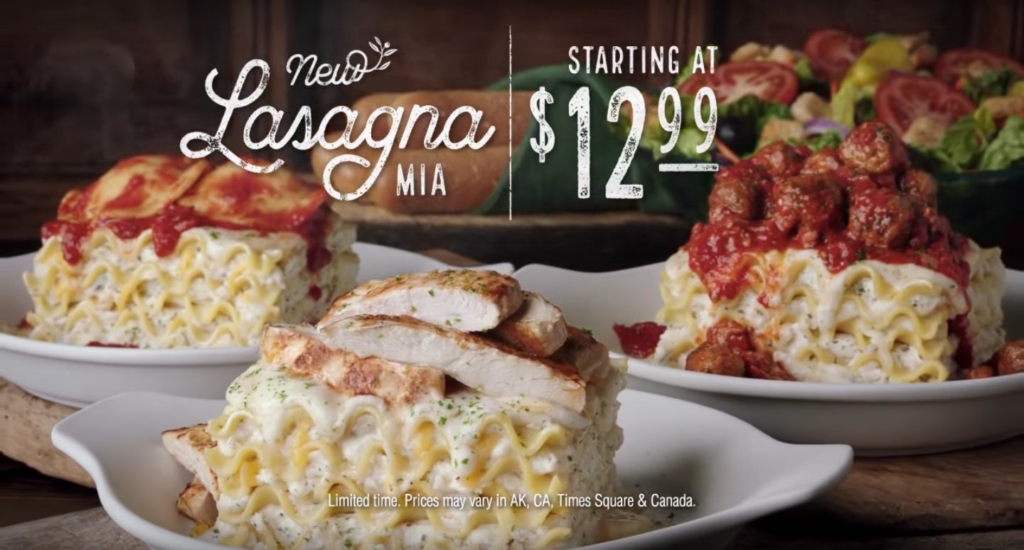 Creating Your Own Lasagna At Olive Garden Is Finally Possible Im