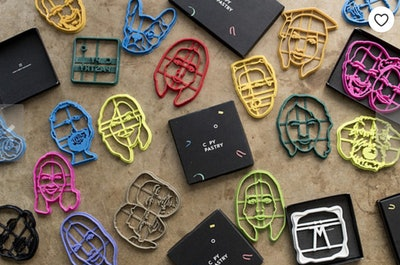 PORTRAIT Personalized Cookie Cutter