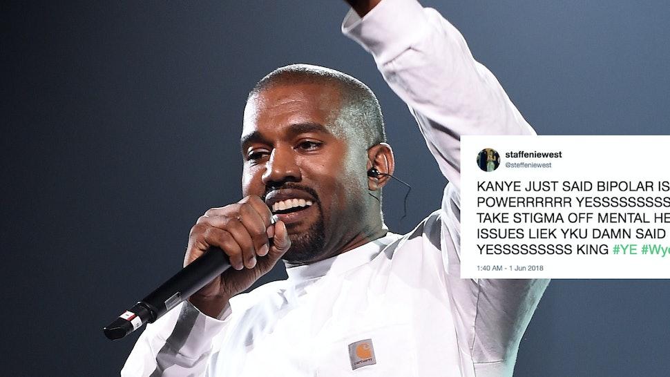 Kanye West Calls Bipolar Disorder His