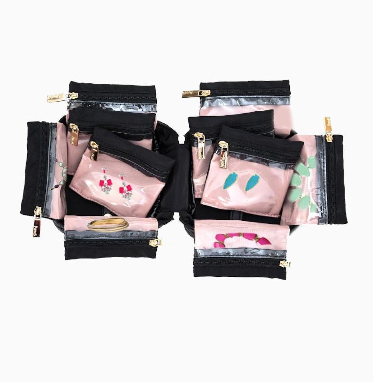 Tiara Weekender Jewelry Case in Ebony Sands