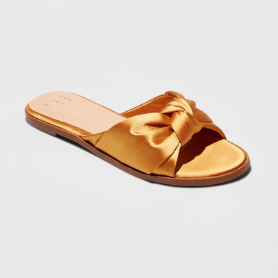 Women's Stacia Knotted Satin Sandals