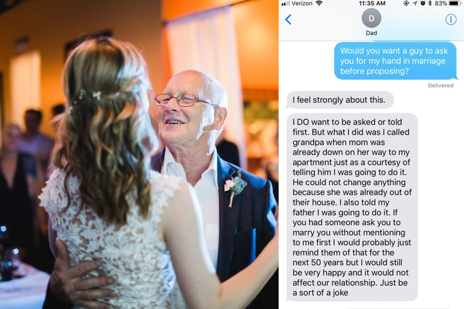 Should You Ask Her Dad For Her Hand In Marriage? 10 Dads Explain Why It  Matters